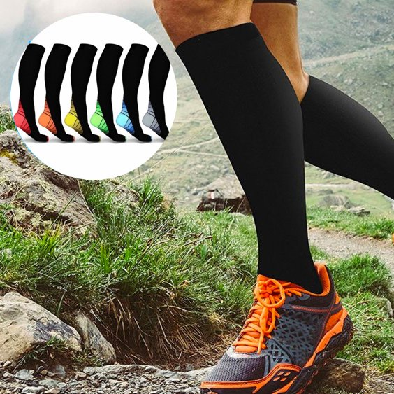 6 pair of compression socks (Original)